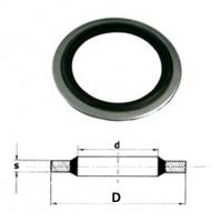 Těsnící kroužek USIT US NBR 4,12x7,26x1,22