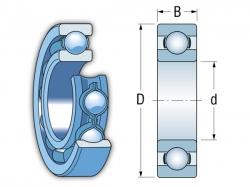Ložisko MR63  EZO